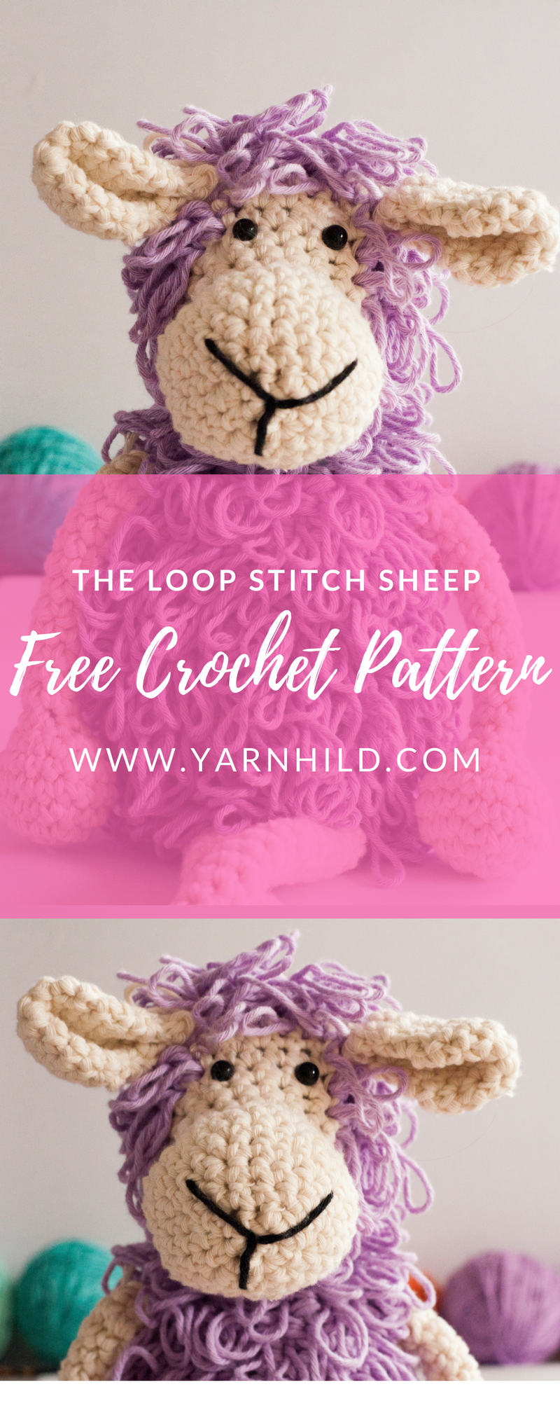 Try this free loop stitch sheep. The pattern is for free and he is ...