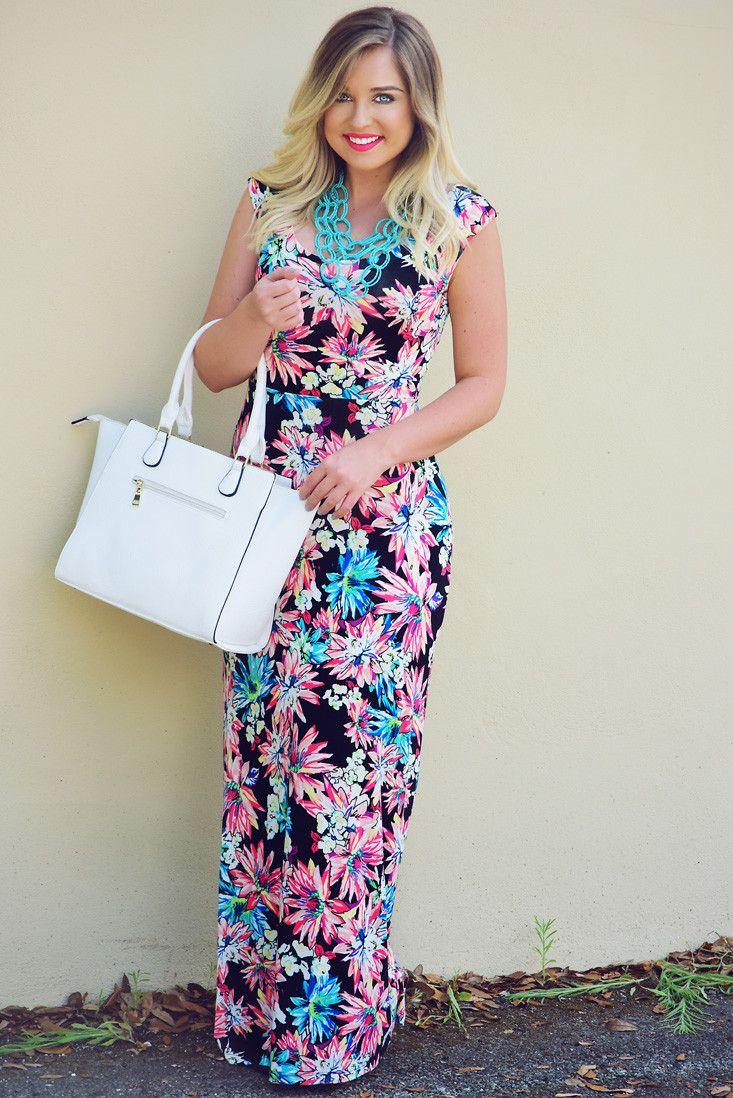 I know a place maxi dress multi shophopes hopeus pinterest