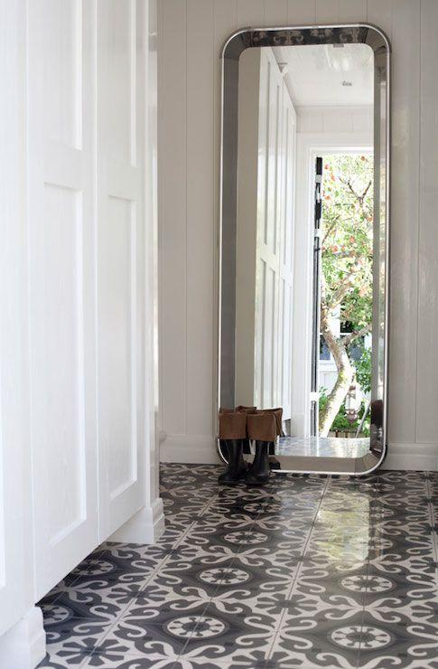 Patterned Flooring. | HOME INSPO | Pinterest | Foyers, Entrance ...