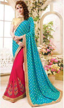 Georgette Fabric Sky Blue Color Day Wear Casual Saree Blouse | FH576085211 Follow us @heenastyle  #saris #sarissg #sariswag #sarisswag #saree #sareeday #sareelove #sareeswag #sareecantik #wearasari #iluvsaris #sarees #sareetime #sareenotsorry #sarinotsorry #sari #saree😍 #instasari #instasaree #sareeon #sareeinspiration #sareetips #sareesofinstagram #sareeaddict #heenastyle
