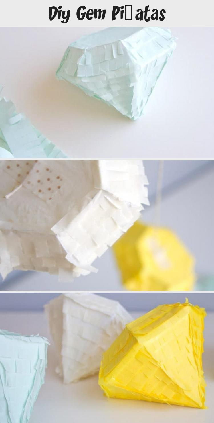 Photo of DIY Gem Piñatas #weddinganniversary #anniversary #partythemes #celebrate #Pinat…