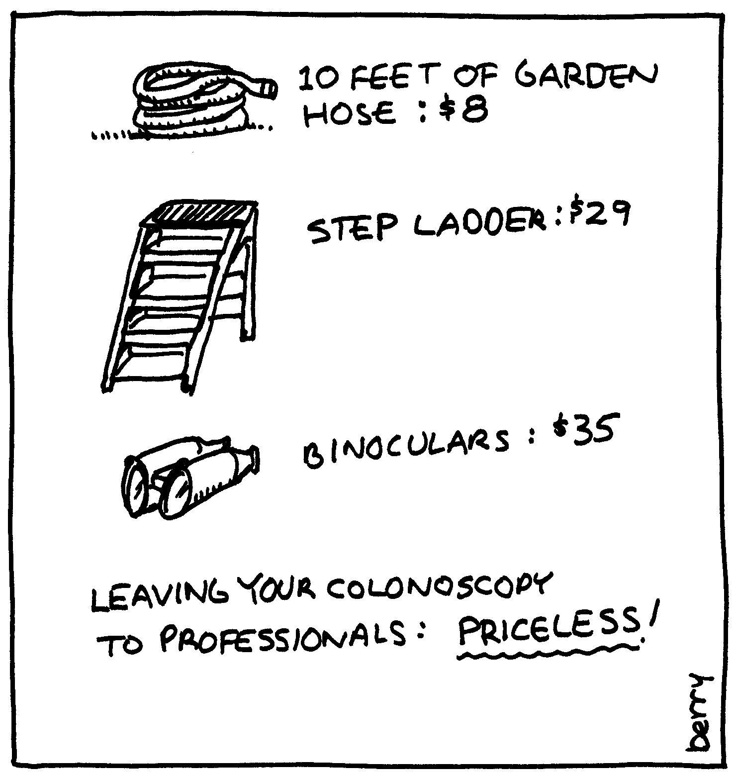 Colonoscopy Cartoons Cartoons For Causes Humor Pinterest