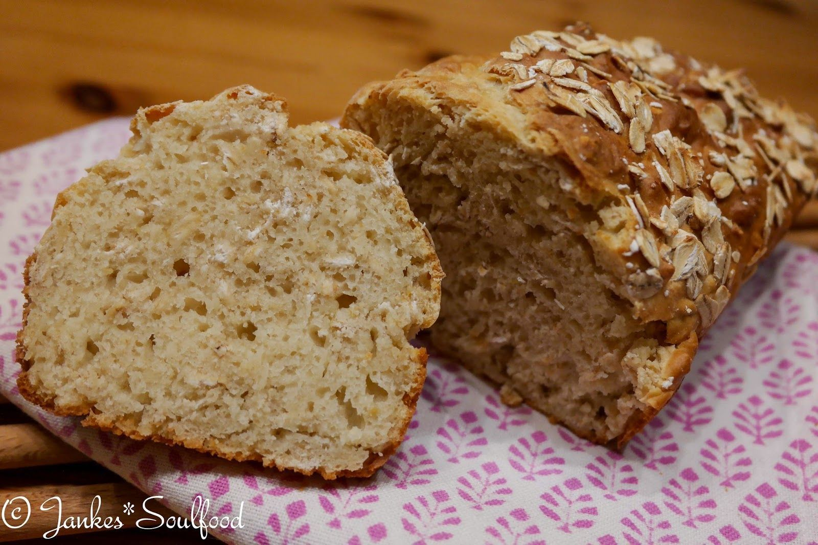 Spelled bread without yeast Jankes Soulfood The post Fast ...