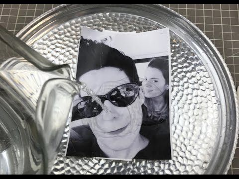 Scrapbooking Process: Selfie Smile - YouTube