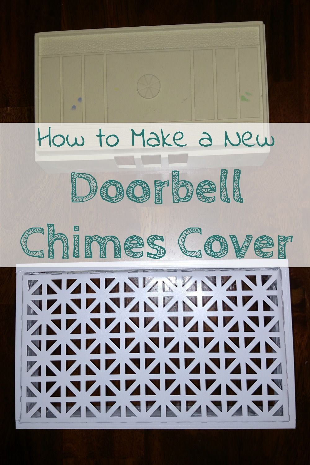 Ordinaire Doorbell Chimes Can Be Such An Eye Sore, Especially Outdated Ones, Make A  New Cover!