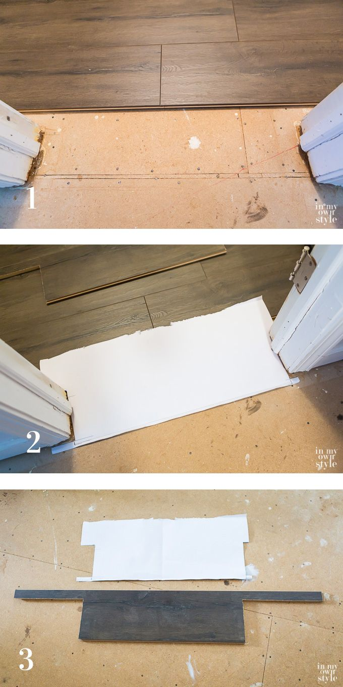 Step By Step How To Cut Laminate Flooring To Fit Around