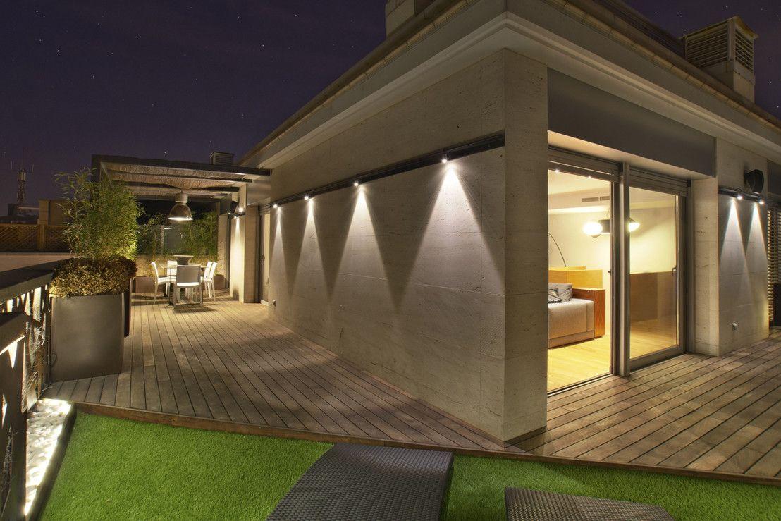 ático Con Terraza En Barcelona Decoración Y Diseño