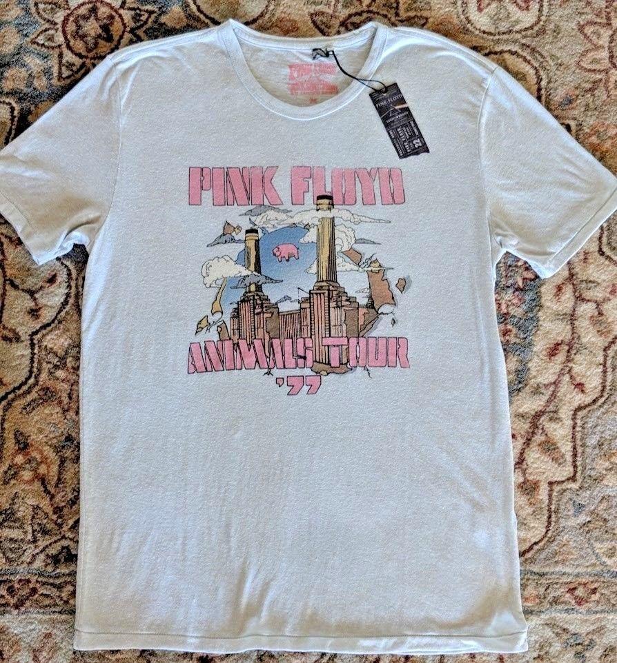 9ac6babff17d53 Lucky Brand Pink Floyd T Shirt Mens M Medium Animals Tour