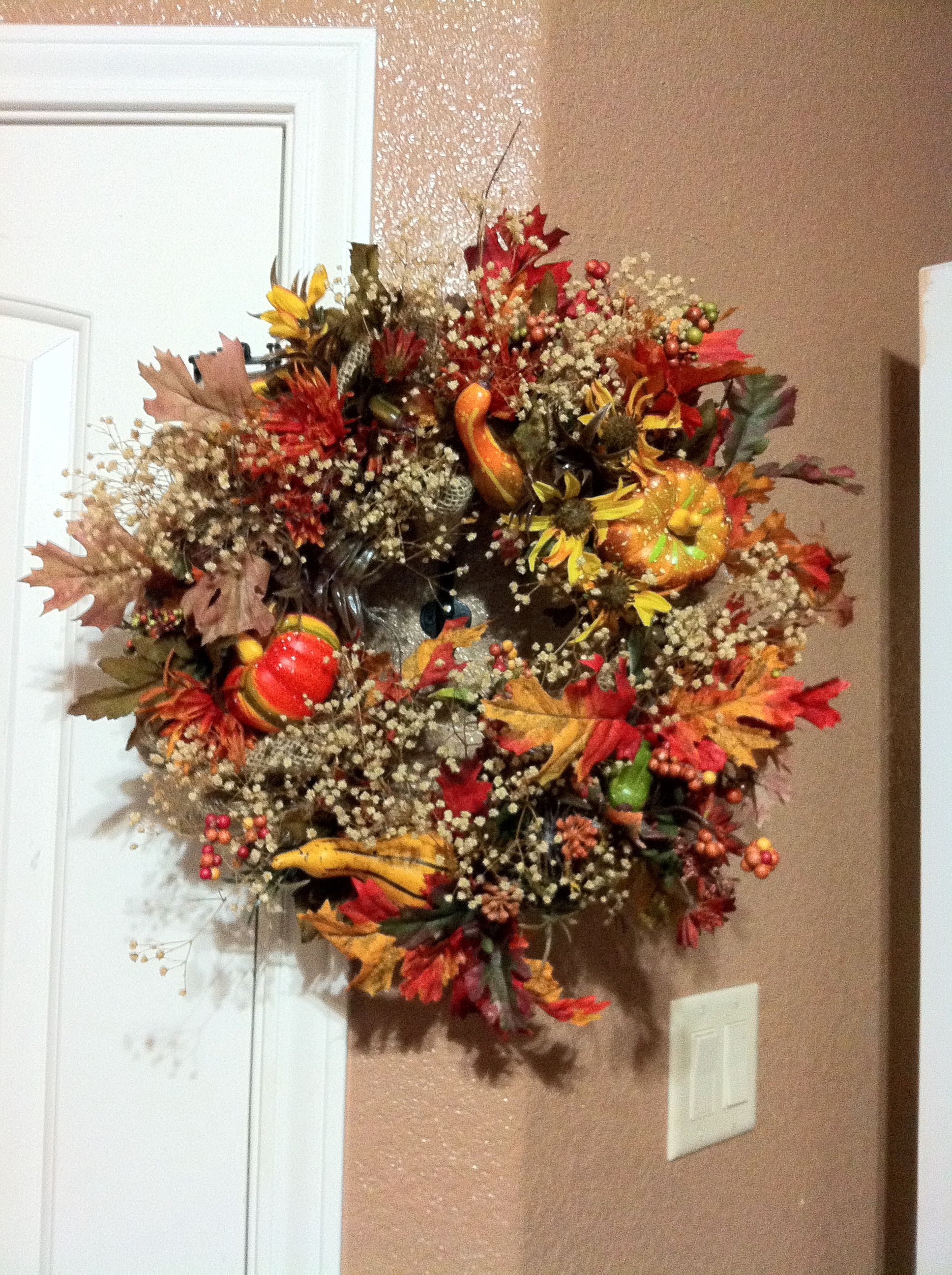 Fall Small Wreath