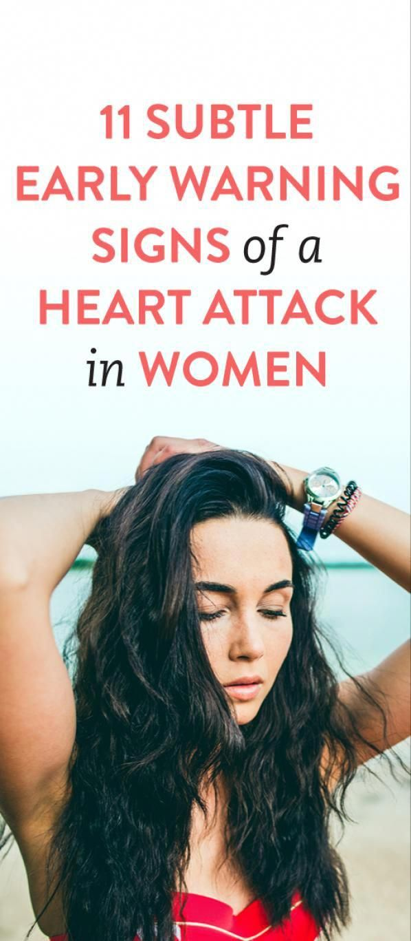 11 Subtle Early Warning Signs Of A Heart Attack In Women #heartattackprevention #NaturalRemediesGout