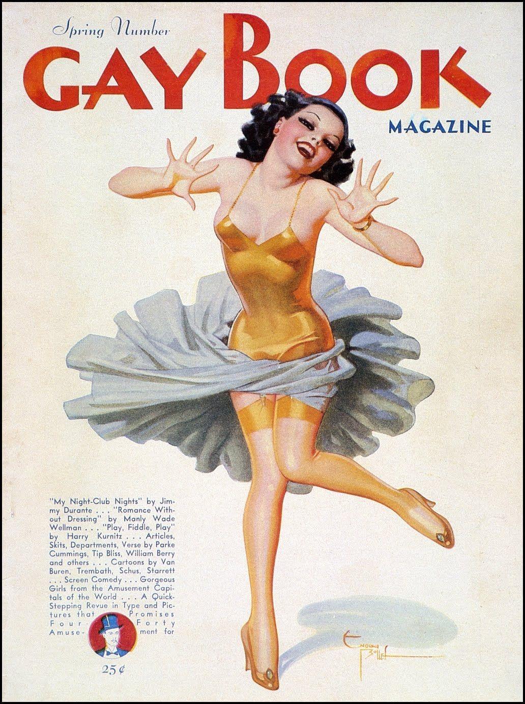 art pinup Vintage gay