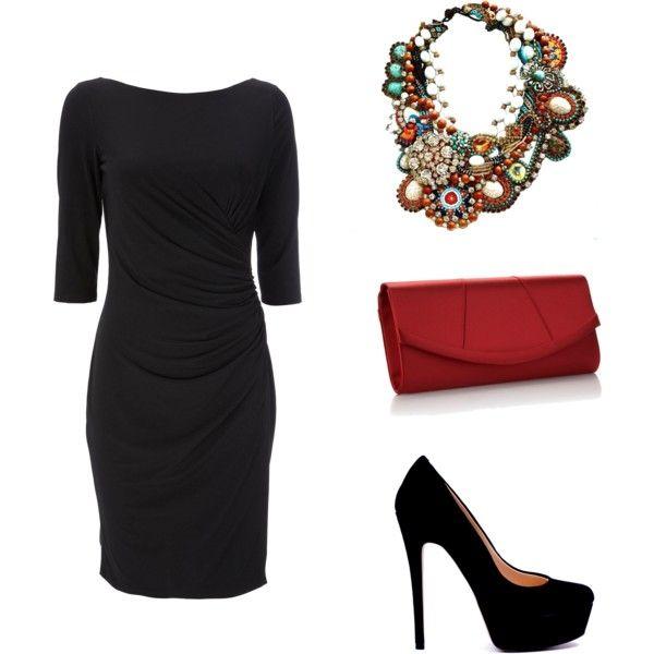 Pin En Vestido Negro Outfits