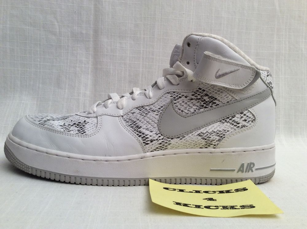check out 0c960 f55ad VINTAGE NIKE AIR FORCE 1 SNAKESKIN  310277-101  EXTREMELY RARE SIZE 13 HIGH  TOP  Nike  AthleticSneakers
