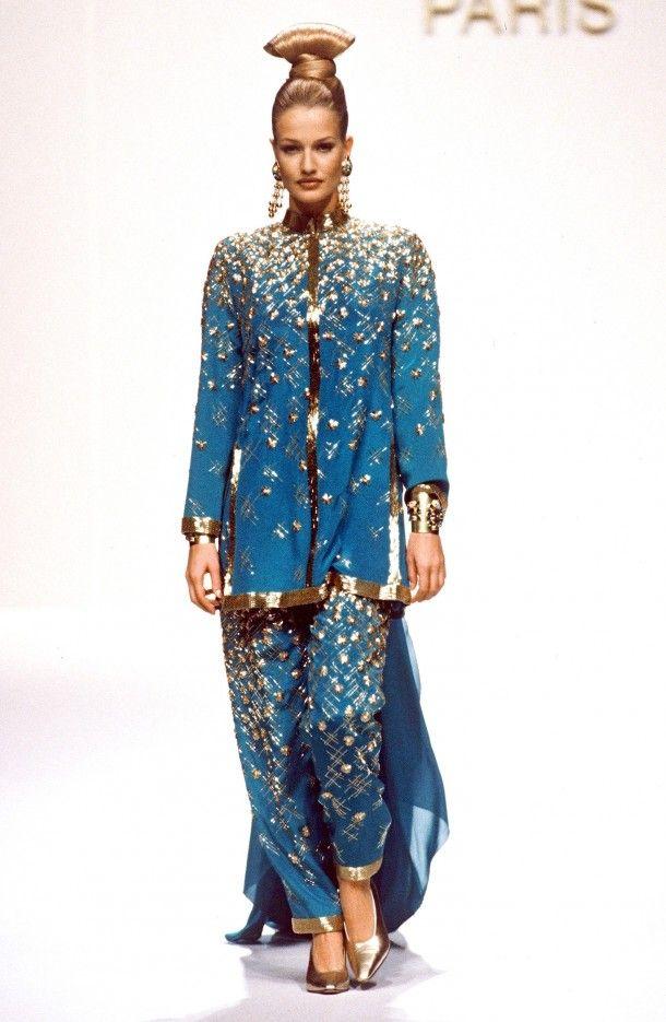 Jean Louis Scherrer couture 1994