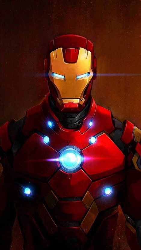 Red Iron Man iPhone Wallpaper (With images) Iphone