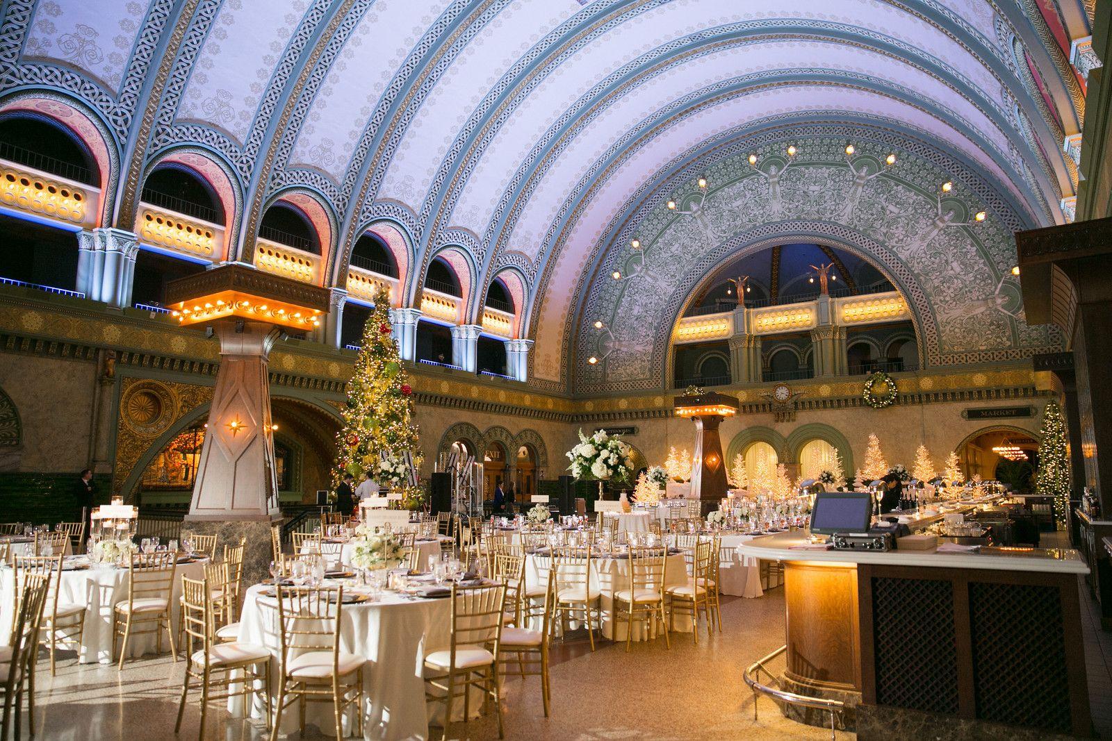 L Photographie St Louis Union Station Wedding Grand Hall