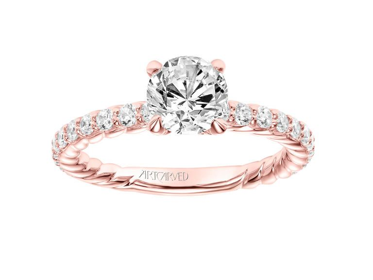 17 Por Engagement Ring Trends 1 Rose Gold