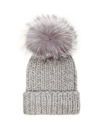 76bff7790 Eugenia Kim Fur Pompom Hat | Jewels/SunShades | Knitted hats, Hats ...