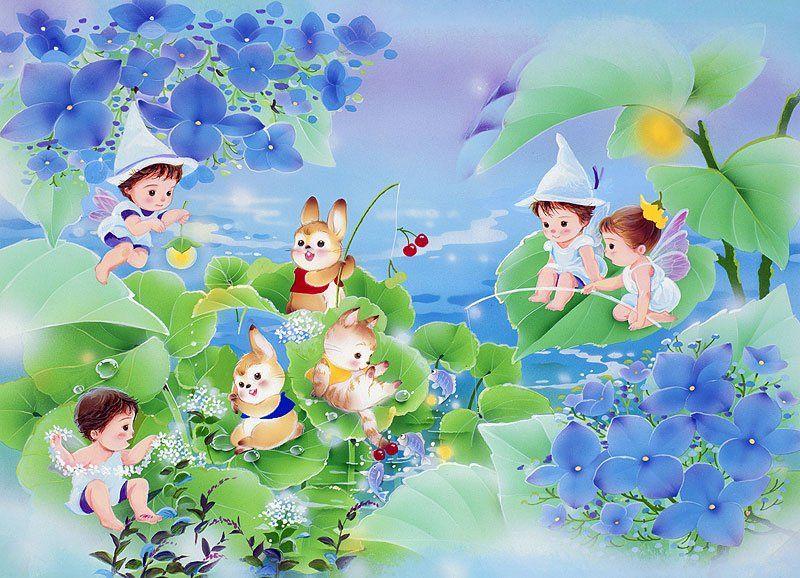 Картинки или анимации детские