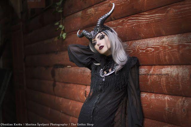 The Gothic Shop Blog: Mystic Shadows - Obsidian Kerttu