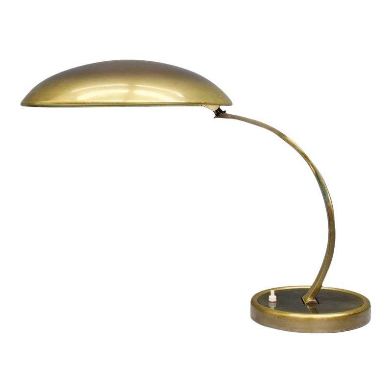 Brass Desk Lamp By Christian Dell Model 6751 For Kaiser Germany 1950s Desk Lamp Brass Desk Lamp Brass Desk