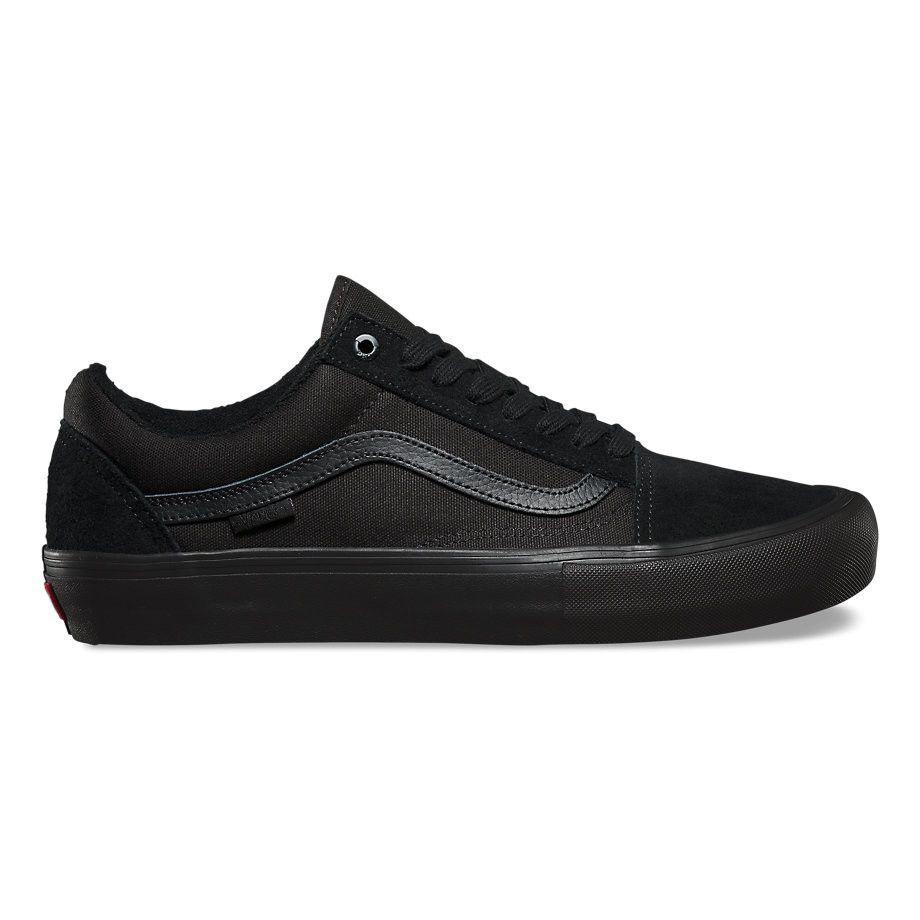 Zapatos negros de invierno Vans Old Skool Reissue para hombre kztRi