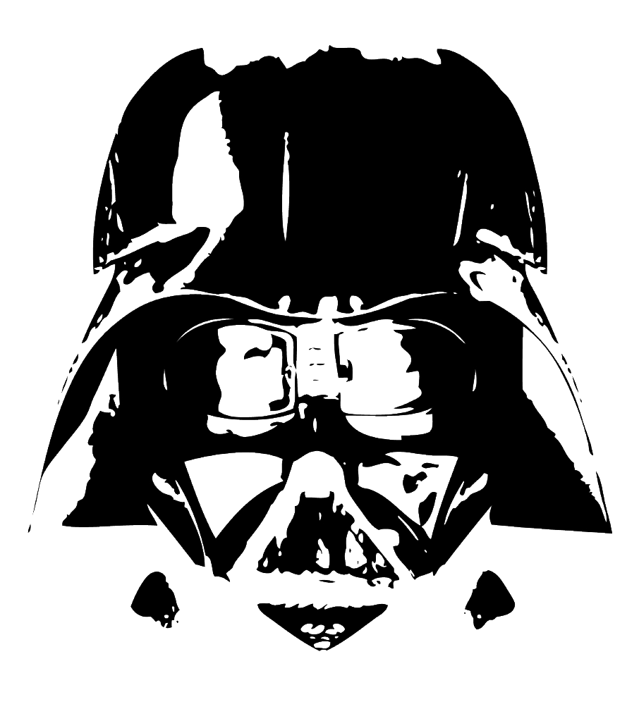 darth vader png white