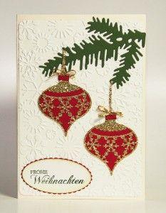Weihnachtsgrüße Klassisch.Flourish Frame Schüttelkarte Christmas Cards Weihnachten Karten