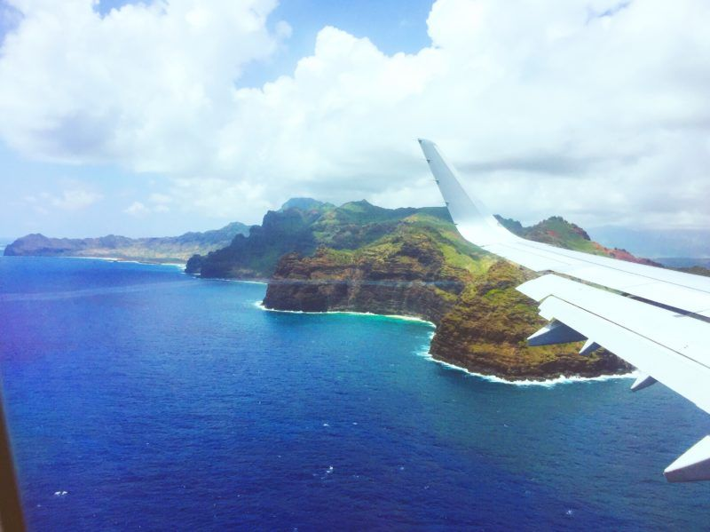Flying Into The Lihue Kauai Airport