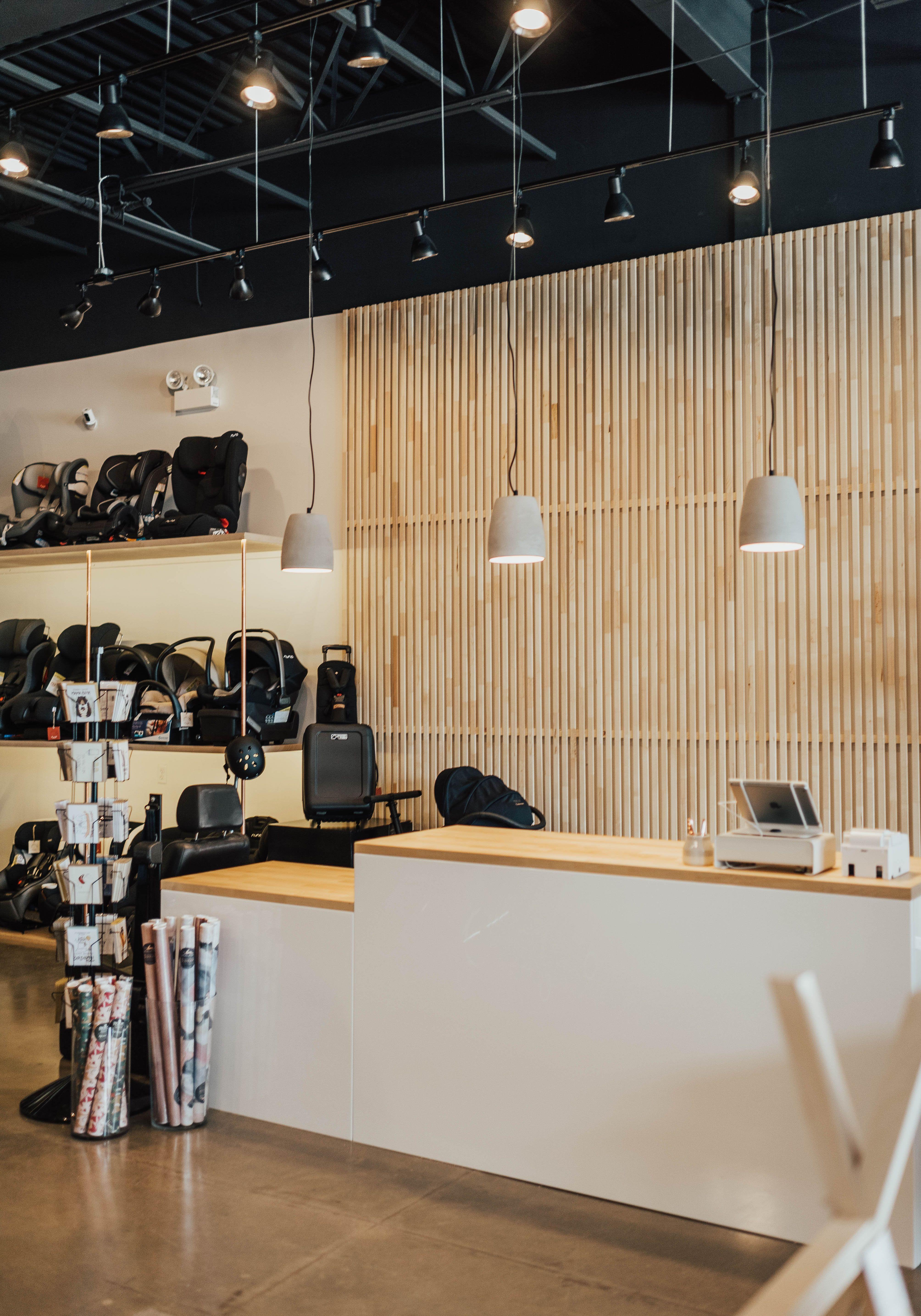 Stroller Haus Retail Store Design | Retail store design ...