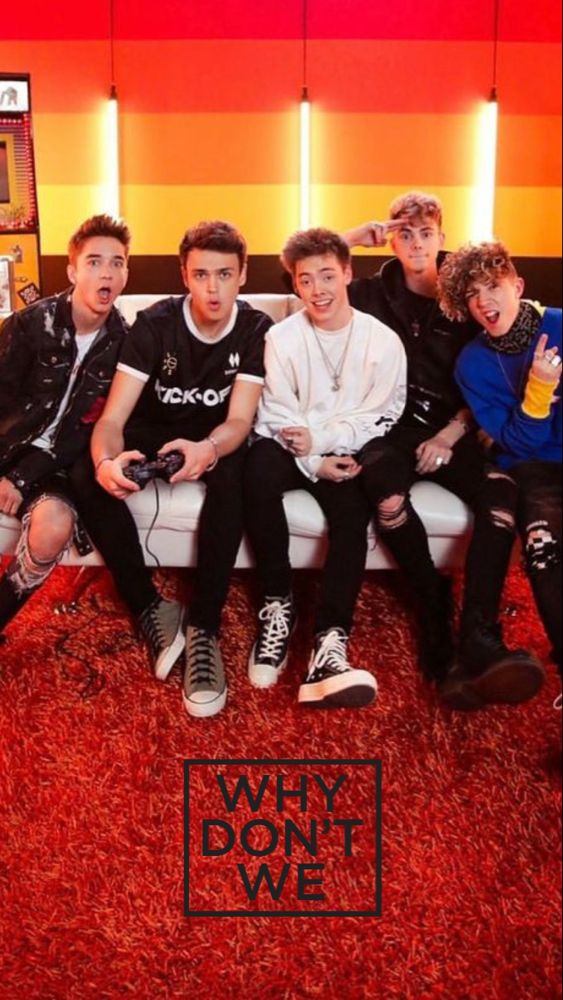 I love why don't we🖤🖤🖤 Why dont we boys, Why dont we