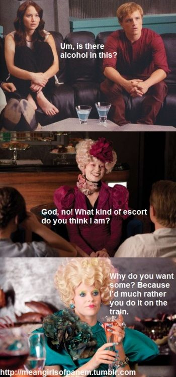 Hunger Games and Mean Girls again