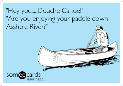 Up a river of crap in a canoe without a paddle poker face glee paroles