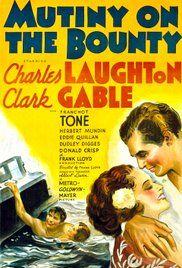 Les Révoltés Du Bounty 1935 : révoltés, bounty, Révoltés, Bounty, Poster, Mutiny, Bounty,, Mutiny,, Movie, Posters, Vintage