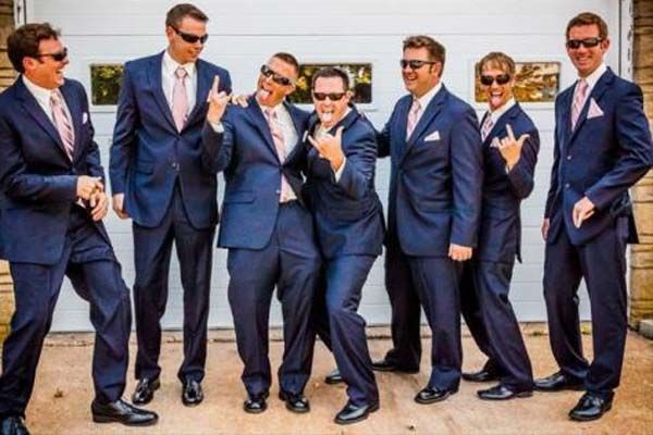 Fashion For Groom And Groomsmen