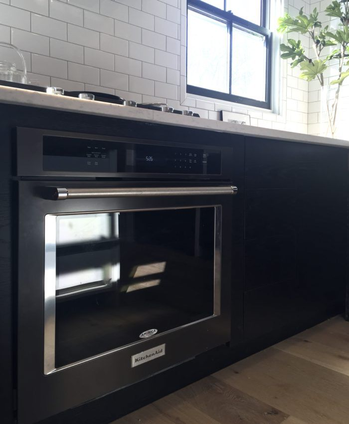 My New KitchenAid Black Stainless Appliances