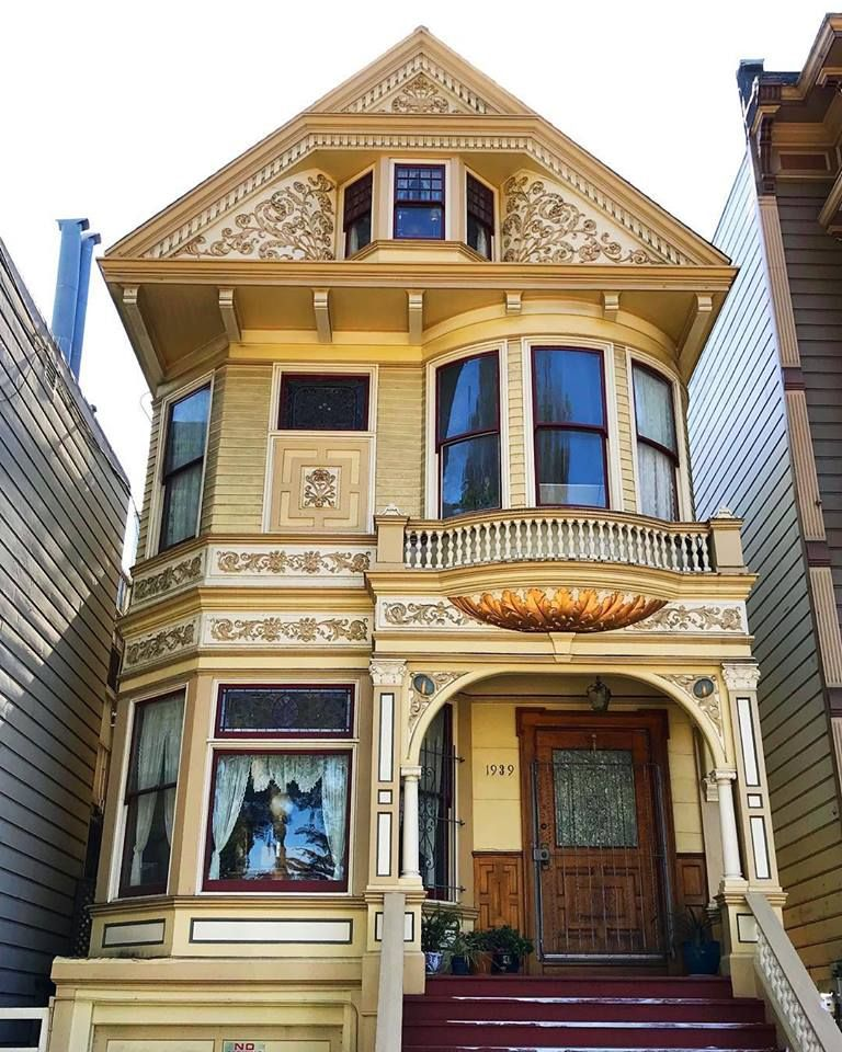 Modern Townhouse Townhouse Designs San Francisco: Victorian Homes, Victorian Townhouse, Victorian Style Homes