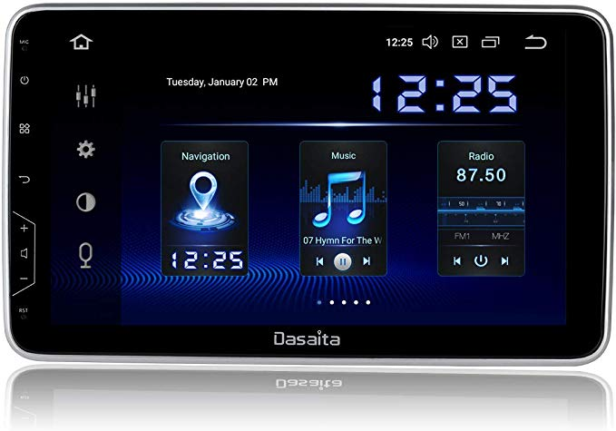 Amazon Com Dasaita 10 Inch Rotatable Screen 2din Android 9 0 Car Stereo For Universal Radio Gps Dsp System 4g Ram 6 In 2020 Android Car Stereo Car Stereo Best Android