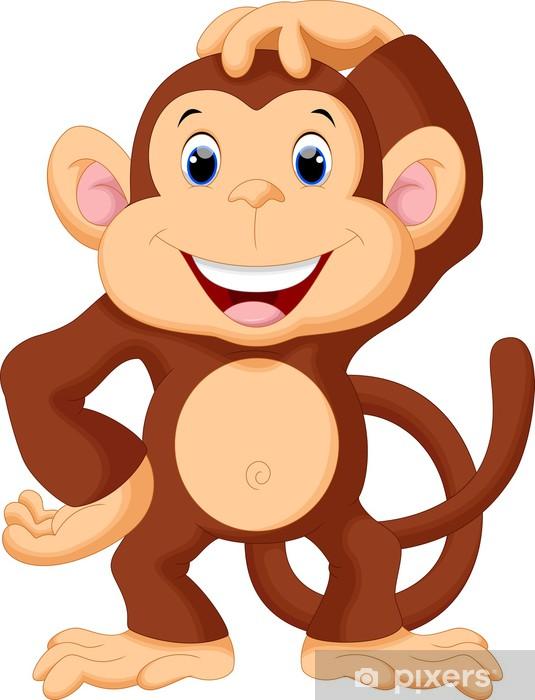 cb4d3f4678903 Papier peint Dessin animé de singe mignon • Pixers® - Nous vivons pour  changer