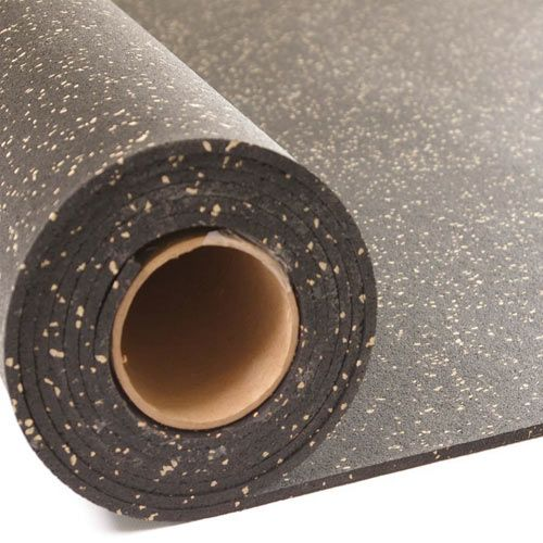 Rubber Flooring Rolls 1 4 Inch 4x10 Ft Colors In 2020 Basement Gym Rubber Flooring Home Gym Flooring