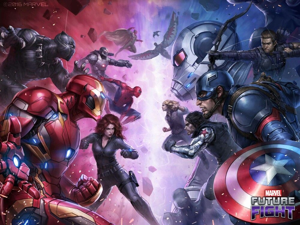 Idea by Rose Garden on Avengers Marvel future fight