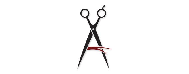 40 Creative Salon Logo Design Ideas For Your Inspiration Barber Logo Salon Logo Design Salon Logo