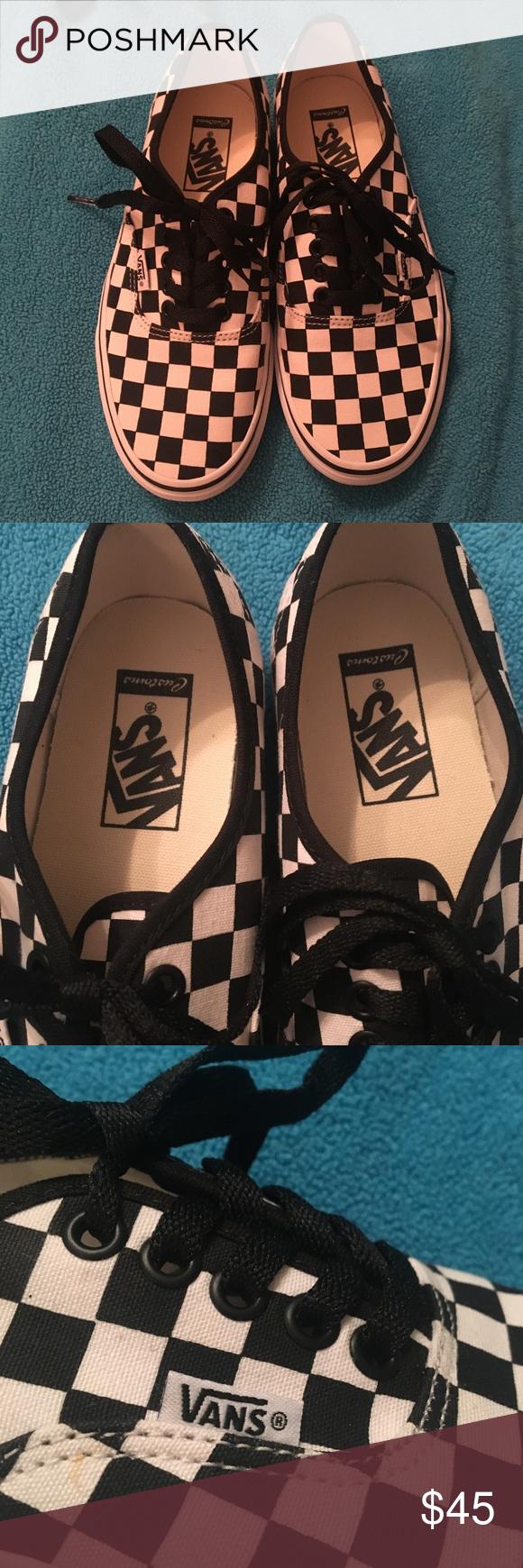 vans checkerboard authentic custom
