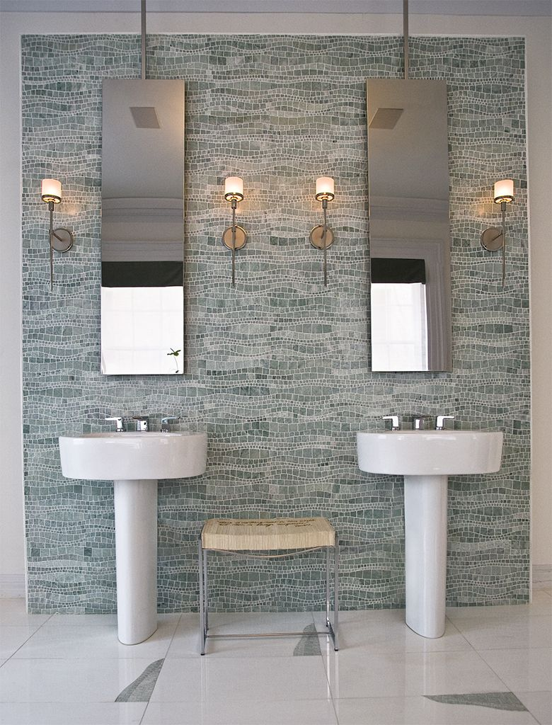 Green Mosaic Lavastone Wall Tile Google Search Downstairs