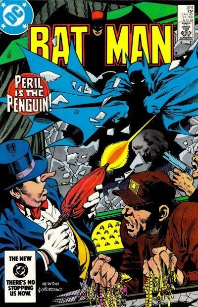 32f262d7fd3 Had this comic ages ago… always remembered the great artwork by Dick  Giordano and Don Newton. Batman Penguin Comic Cover
