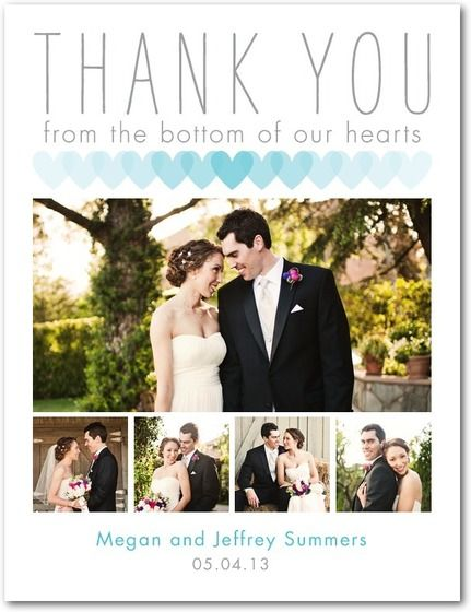 Thank You Cards Wedding Paper Divas Blog