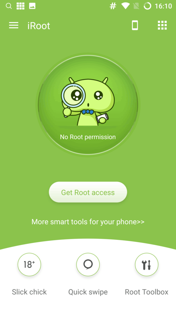 iRoot Android App for Rooting Android Phone Root apps