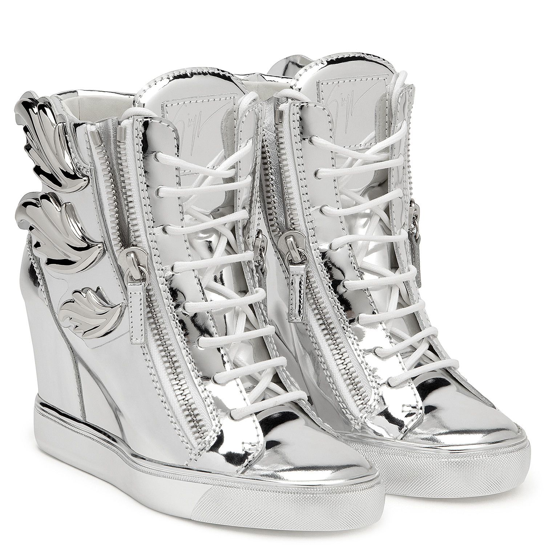 Cruel Wedges Silver | Giuseppe Zanotti | Boot shoes