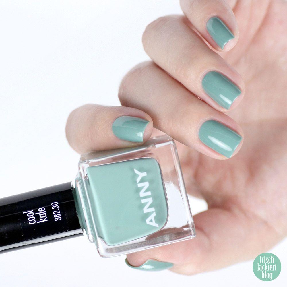 ANNY nail polish cool kale | Hair & Nails | Pinterest | Kale, Swatch ...