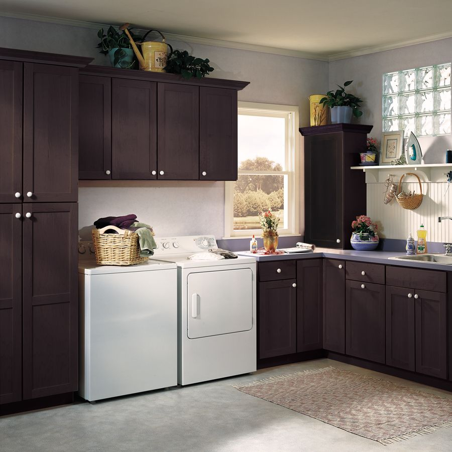Brown Cabinet Kitchen Ideas: Chocolate Brown Cabinetry In A Variety Of Cabinet Styles